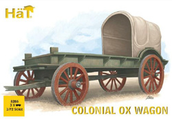 HaT Ind. Figures Colonial Ox Wagon, LIST PRICE $15