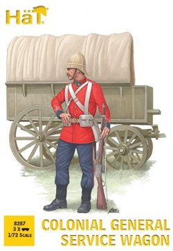 HaT Ind. Figures Colonial General Service Wagon, LIST PRICE $15