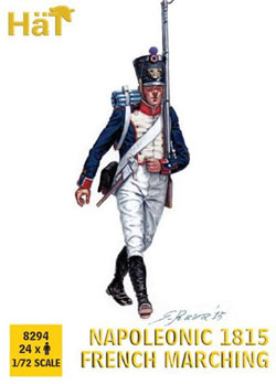 HaT Ind. Figures Nap 1815 French Marching 1:72, LIST PRICE $999.99