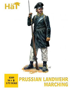 HaT Ind. Figures Prussian Landwehr Marching, LIST PRICE $999
