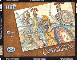 HaT Ind. Figures CARTHAGINIANS AFRICAN INF 1:32, LIST PRICE $10.5
