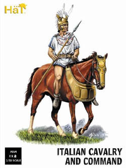 HaT Ind. Figures ITALIAN CAVALRY 1:32          , LIST PRICE $22.29