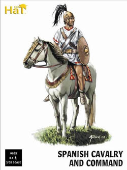 HaT Ind. Figures PUNIC WAR SPANISH CAVALRY & CO, LIST PRICE $22.29