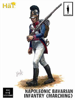 HaT Ind. Figures BAVARIAN INFANTRY MARCHING1:32, LIST PRICE $15