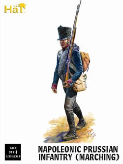 HaT Ind. Figures PRUSSIAN INFANTRY MARCHING :32, LIST PRICE $15