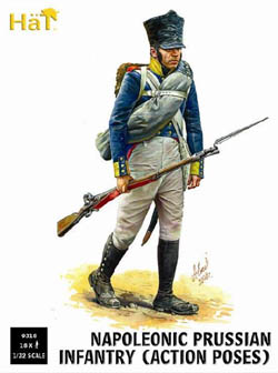 HaT Ind. Figures PRUSSIAN INFANTRY ACTION POSES, LIST PRICE $15