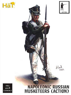 HaT Ind. Figures RUSSIAN INFANTRY ACTION 1:32 , LIST PRICE $15