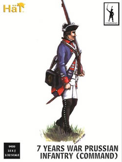 HaT Ind. Figures 7Yw Prussian Command 1:32, LIST PRICE $20