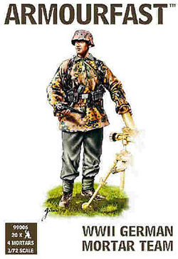 HaT Ind. Figures LATE GERMAN MORTAR TEAM       , LIST PRICE $7.5