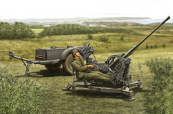 Hobby Boss 2cm Flak38 Late Sd.Ah 51 1:35, LIST PRICE $22.95