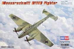 Hobby Boss 1/72 Messerschmitt BF110, LIST PRICE $17.99