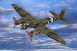 Hobby Boss 1/72 German JU88 Fighter, LIST PRICE $21.99