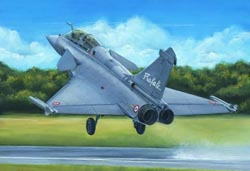Hobby Boss 1:48 French Air Force Rafale B Fighter, LIST PRICE $68.99