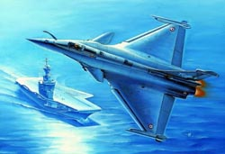 Hobby Boss 1:48 French Air Force Rafale M Fighter, LIST PRICE $68.99