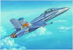 Hobby Boss 1:48 F/A-18D Hornet, LIST PRICE $86.99