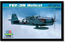 Hobby Boss 1/48 F6F-3N Hellcat Aircraft, LIST PRICE $34