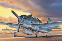 Hobby Boss 1/48 F6F-3 Hellcat, Late Version, LIST PRICE $29.99