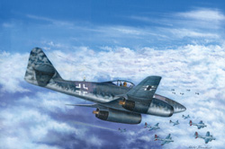 Hobby Boss 1/48 ME 262 A-1B Turbojet Fighter, LIST PRICE $32
