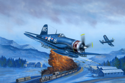 Hobby Boss 1/48 F4U-4 Corsair, Late Version, LIST PRICE $55.99