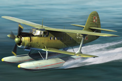 Hobby Boss 1/48 Antonov AN-2W Colt Seaplane, LIST PRICE $61.99