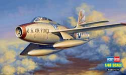 Hobby Boss 1/48 F-84F Thunderstreak, LIST PRICE $55.99