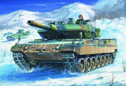 Hobby Boss 1:35 German Army Leopard 2 A5/A6 Tank, LIST PRICE $39.99