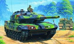 Hobby Boss 1:35 German Army Leopard 2 A6EX Tank, LIST PRICE $39.99