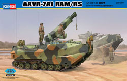 Hobby Boss 1/35 AAVR-&A1 w/RAM/RS, LIST PRICE $69.99