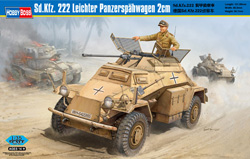 Hobby Boss 1/35 Sd.Kfz.222 Lt Panzerspahw, LIST PRICE $49