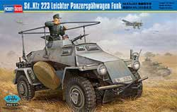 Hobby Boss 1/35 Sd.Kfz.223 Lt Panzerspahw, LIST PRICE $49