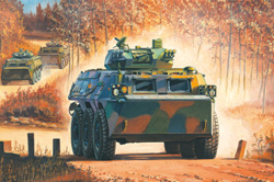 Hobby Boss 1/35 ZSL-92G IFV Chinese Armored Personnel Carrier, LIST PRICE $39