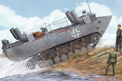 Hobby Boss 1/35 Land-Wasser-Schlepper II, LIST PRICE $57.99