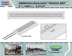 Hobby Boss 1/72 German WWII Railway Track Set, LIST PRICE $14.99