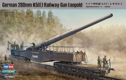 Hobby Boss 1/72 German 280mm K5 E Railway Gun�, LIST PRICE $59.99