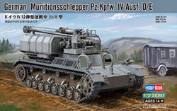 Hobby Boss 1/72 Munitionsschlepper PzKpfw IV Ausf D/E�, LIST PRICE $19.99