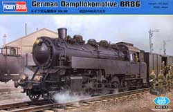 Hobby Boss 1/72 German Dampflokomotive BR86, LIST PRICE $48.99