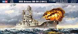 Hobby Boss USS ARIZONA BB-39 1:700 , LIST PRICE $11.99