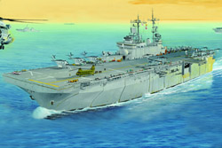 Hobby Boss 1/700 USS Wasp LHD-1 Amphibious Assault Ship, LIST PRICE $63.99