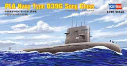 Hobby Boss PLA NAVY TYPE 039 SONG CLS SUB, LIST PRICE $20