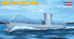 Hobby Boss 1/350 DKM Type VII-A U-Boat, LIST PRICE $20