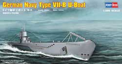 Hobby Boss 1/350 German Type VII-B U-Boat, LIST PRICE $20