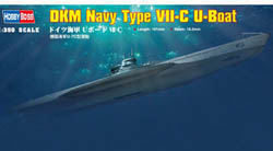 Hobby Boss DKM NAVY TYPE VII-C U-BOAT    , LIST PRICE $20