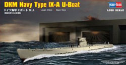 Hobby Boss DKM NAVY TYPE IX-A U-BOAT :350, LIST PRICE $20