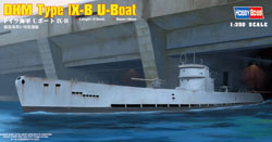 Hobby Boss 1/350 DKM Type IX-B U-Boat, LIST PRICE $20