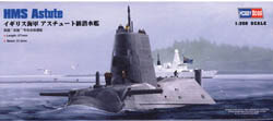 Hobby Boss HMS ASTUTE SUBMARINE 1:350 , LIST PRICE $25.99