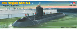 Hobby Boss 1/350 USS Virginna SSN-774, LIST PRICE $29.99