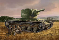 Hobby Boss 1:48 Russian Army KV-2 Tank, LIST PRICE $26.99