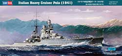 Hobby Boss ITALIAN Hvy CRUISER POLA 1:350, LIST PRICE $22.99