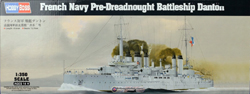 Hobby Boss 1:350 French Navy Pre-Dreadnought Battleship Danton, LIST PRICE $999