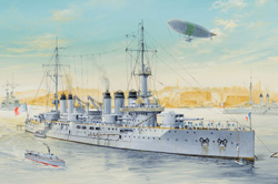 Hobby Boss 1:350 French Navy Pre-Dreadnought Battleship Voltaire, LIST PRICE $999